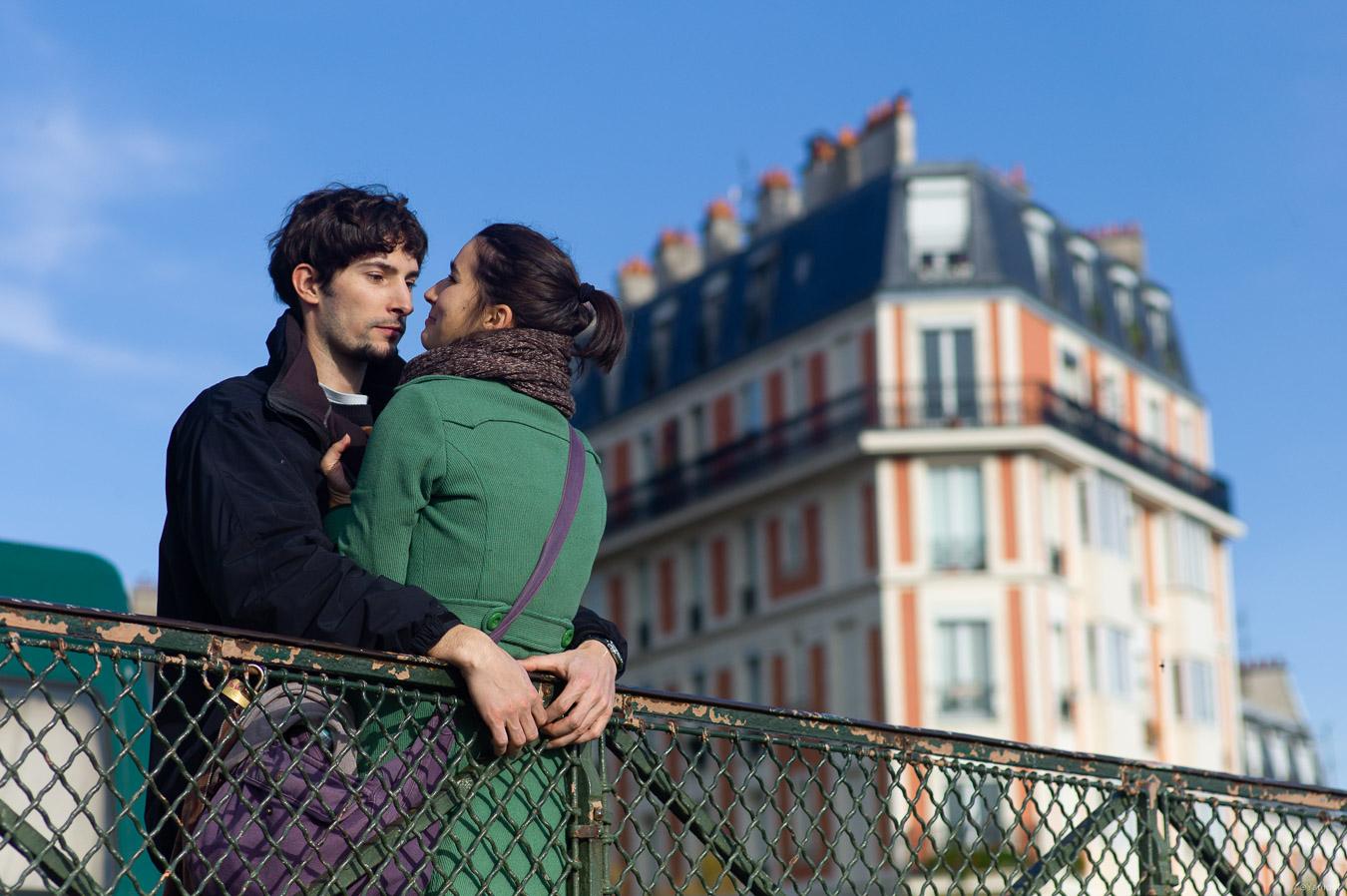 Lovers of Montmartre