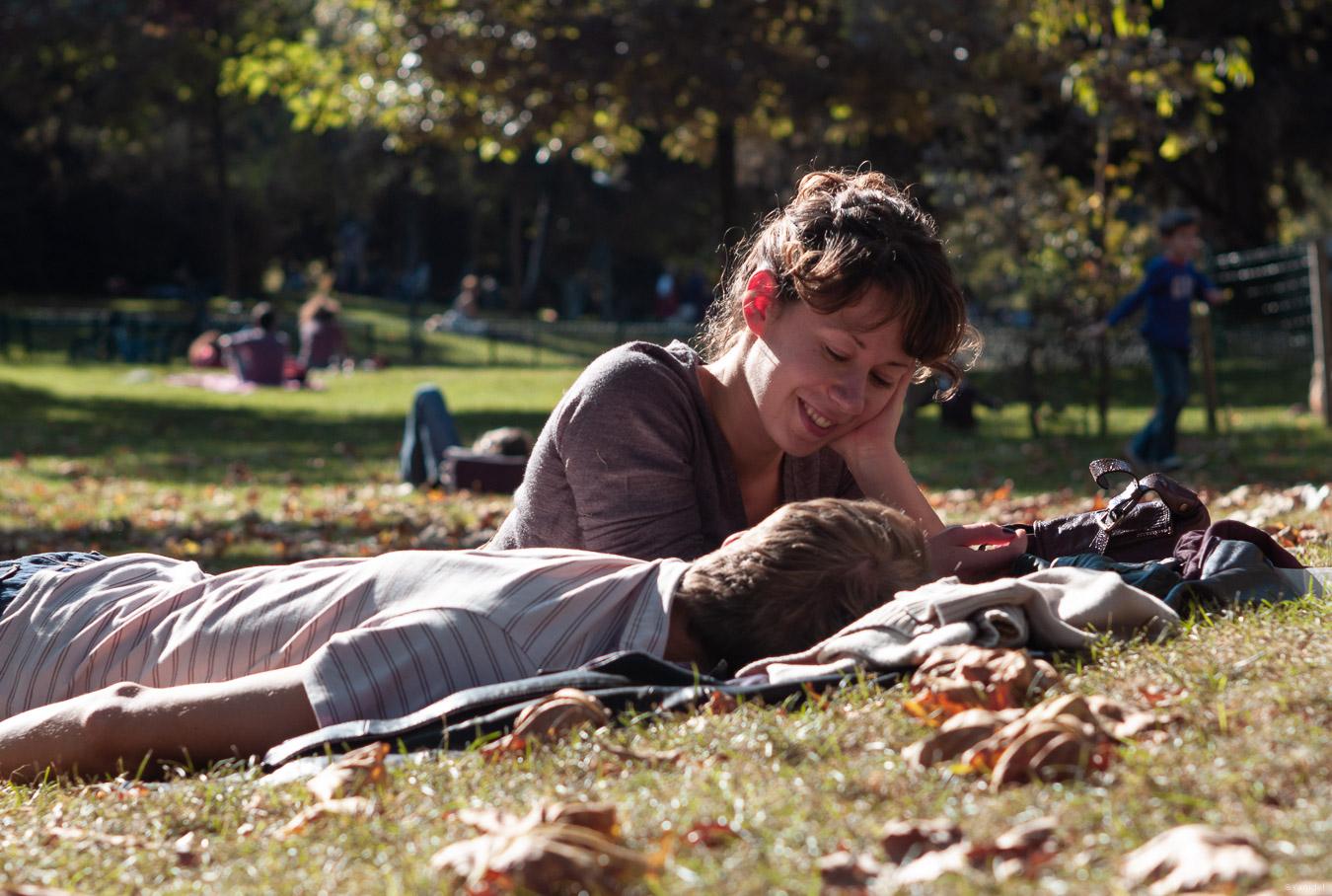 Parc Monceau lovers-