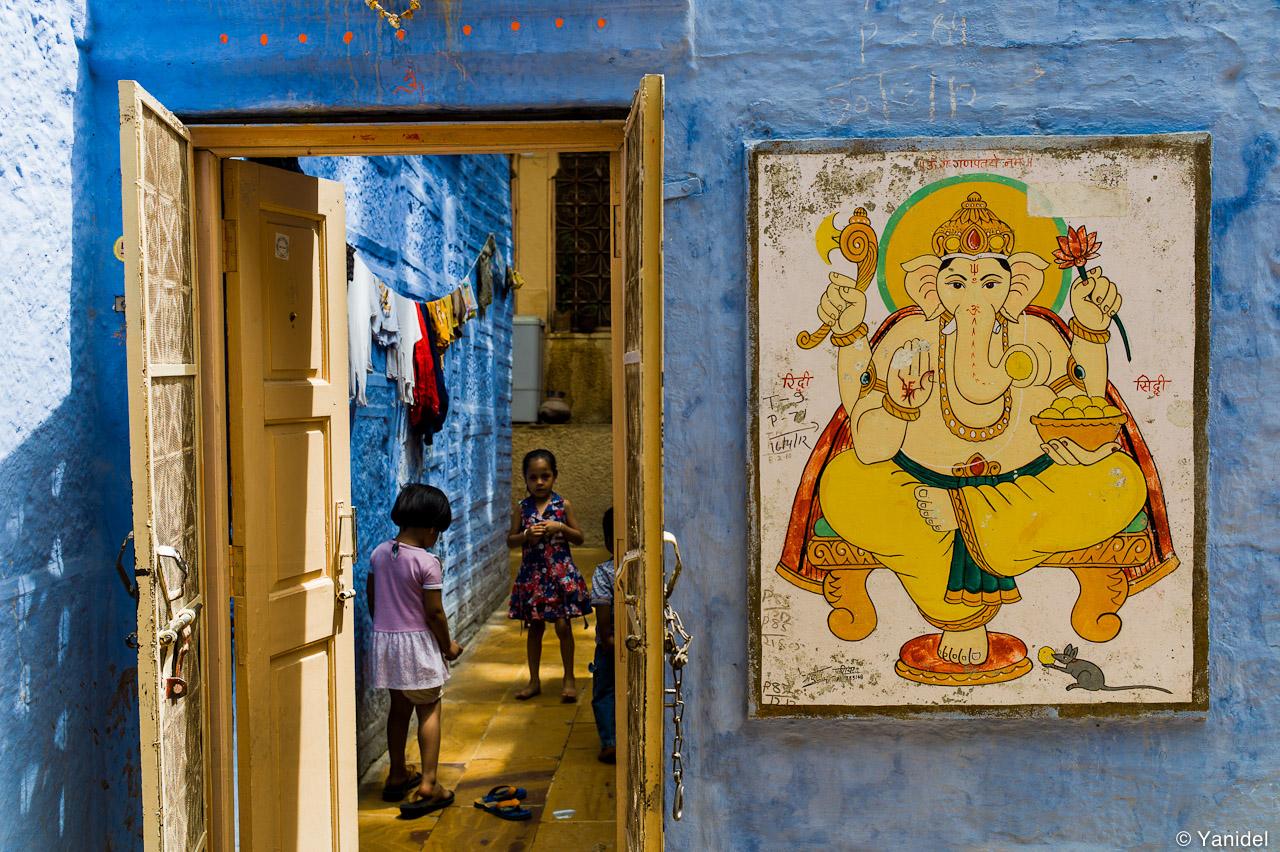 Jaiselmer house of Ganesh