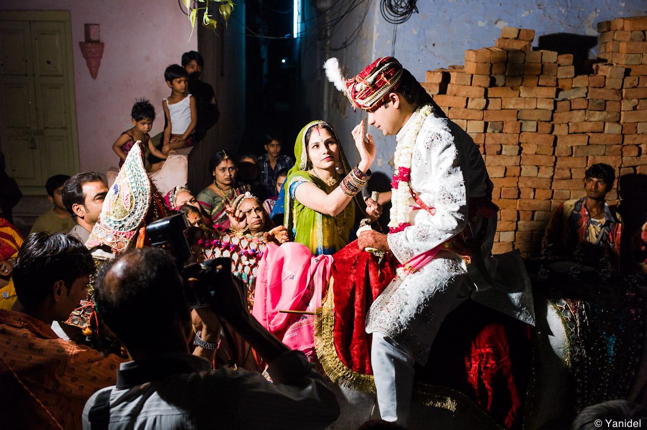 The groom Pushkar