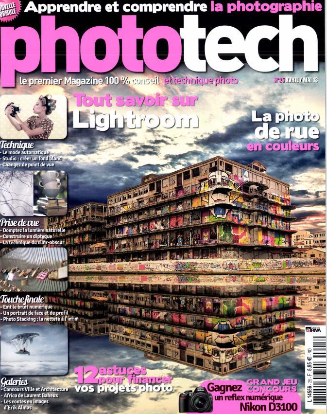 Phototech magazine Yanidel