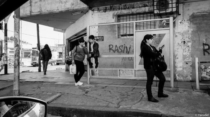 Bus stop Buenos Aires II Yanidel