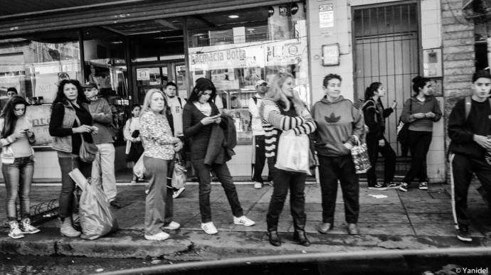 Bus stop Buenos Aires III Yanidel