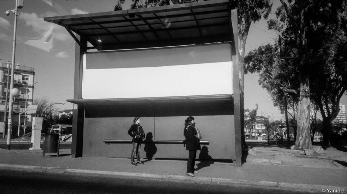 Bus stop Buenos Aires IV Yanidel