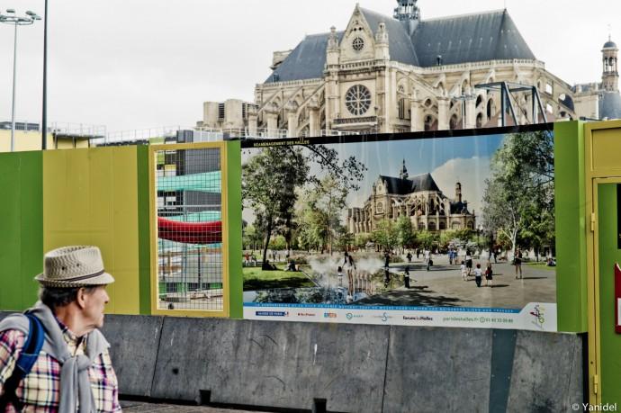 Saint Eustache Paris Yanidel