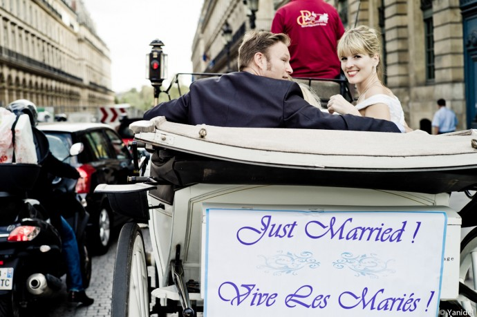 just married traffic yanidel