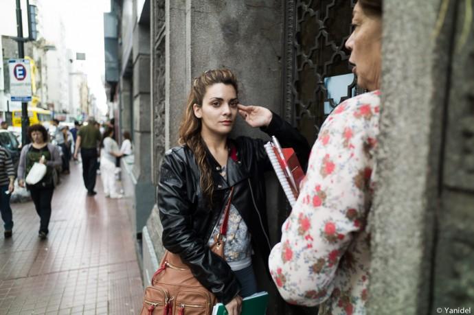 Thinker girl Rosario