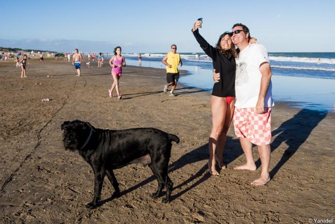 selfie mar del plata yanidel