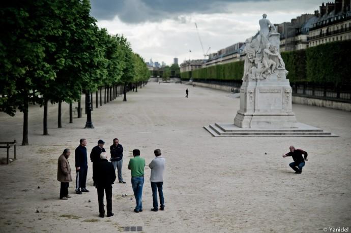 Petanque Tuileries Yanidel
