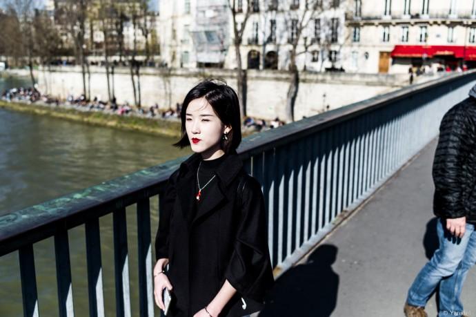 A geisha in Paris Yanidel